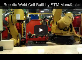 robotic weld cell