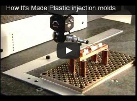 how plastic injection molds are made